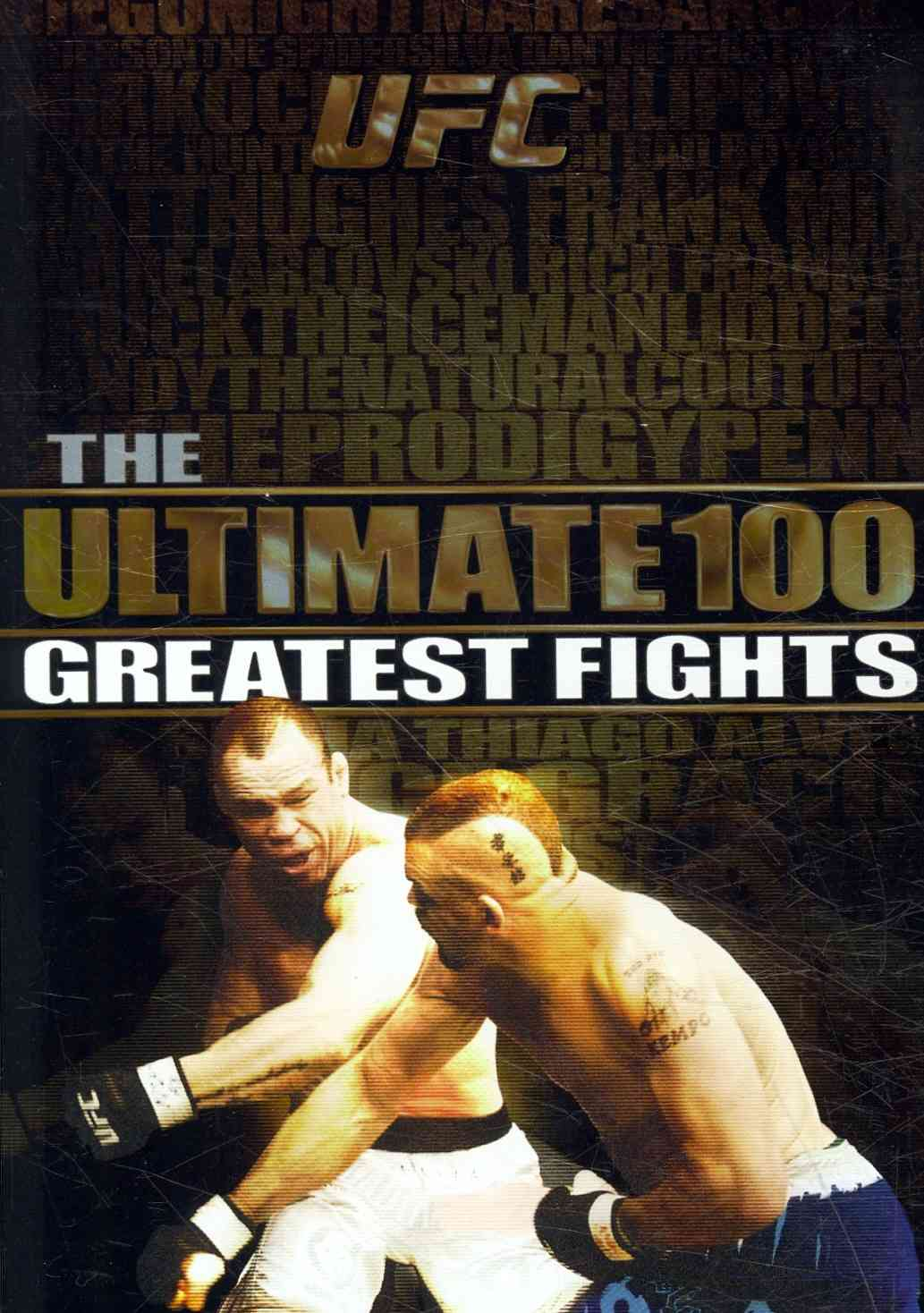 UFC ULTIMATE 100 BOX SET BY GRACIE,ROYCE (DVD)
